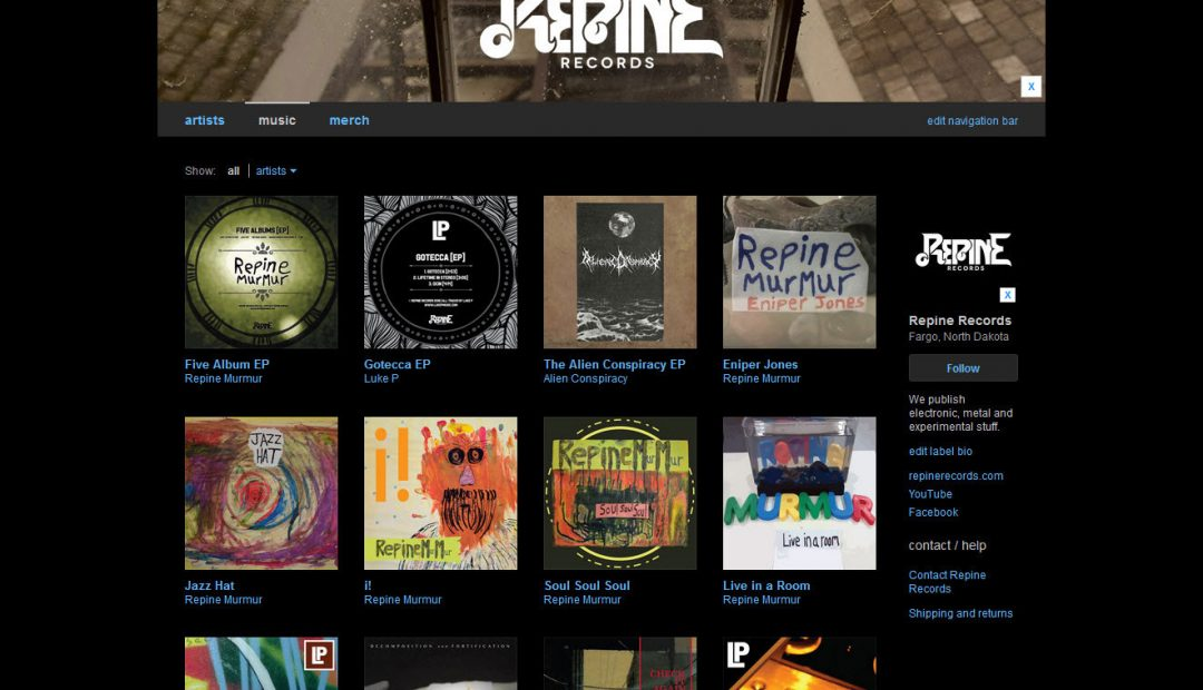 Repine Records is on Bandcamp