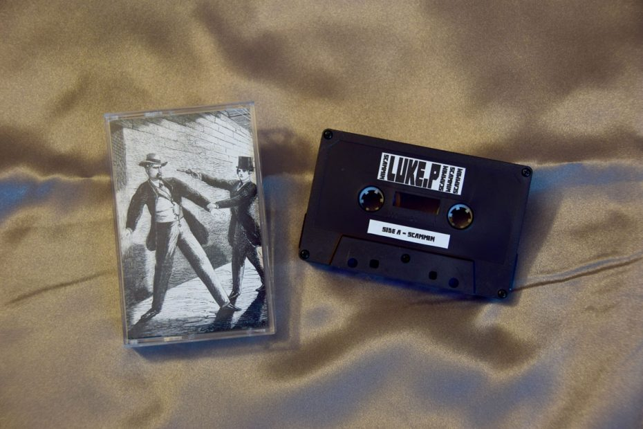 New Cassette Release: Scammin EP by Luke P