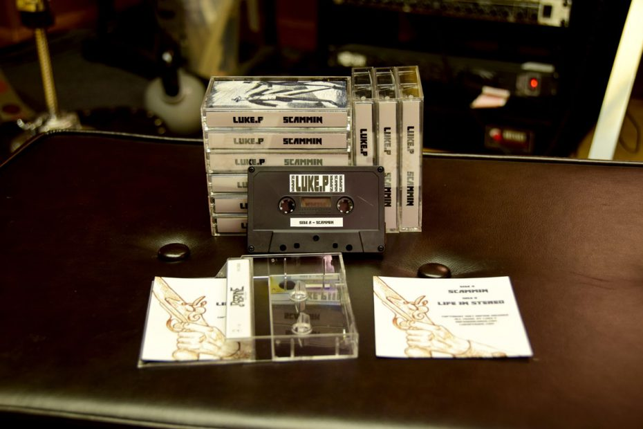 Luke P Scammin Cassette Stack